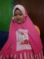 mukenah anak warna pink