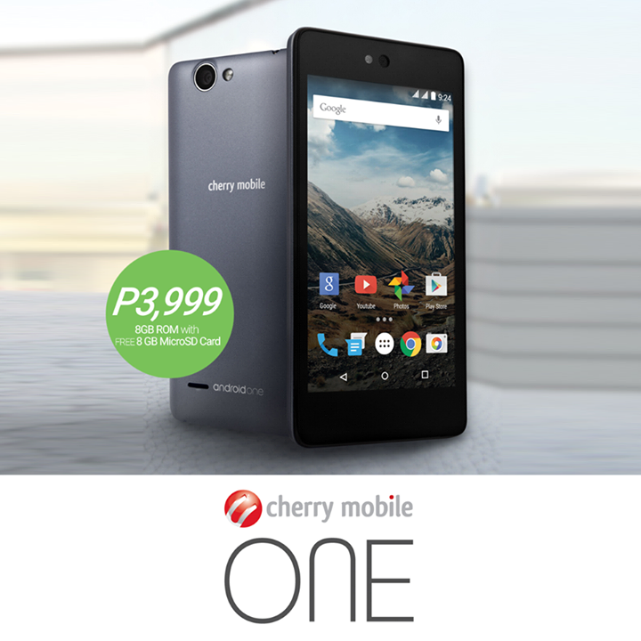 Cherry Mobile One Specs, Price and Availability