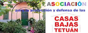 """Por la Defensa y Protección de las """"Casas Bajas"""" de Tetuán"""