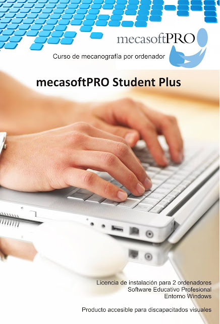 La imagen muestra unas manos escribiendo sobre un teclado