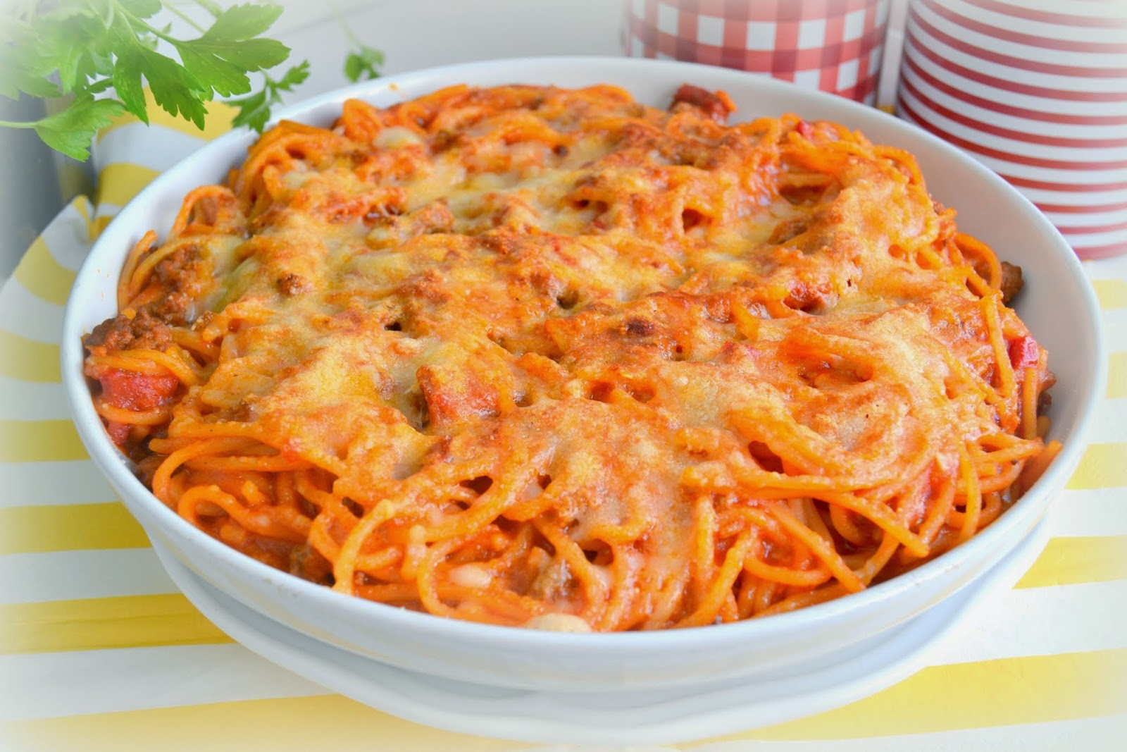 Espaguetis al infierno con carne y chorizo for Espaguetis para dos