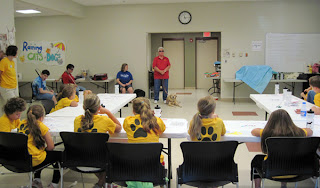Dixie Land presents to Summer Bark Camp