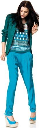 pantalones pinzas mujer