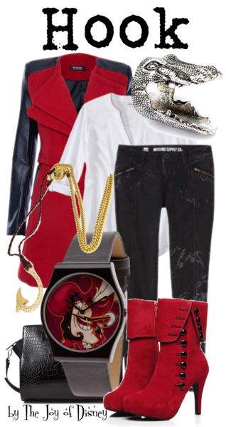 Captain Hook, Peter Pan, Disney Fashion, Hook Peter Pan
