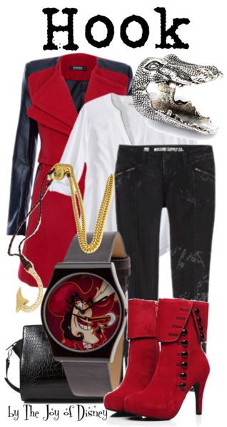 Captain Hook, Peter Pan, Disney Fashion, Hook Peter Pan
