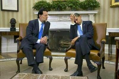 Fracasado encuentro entre Mariano Rajoy y el presidente Obama