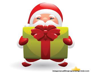 Santa Claus llevando regalos