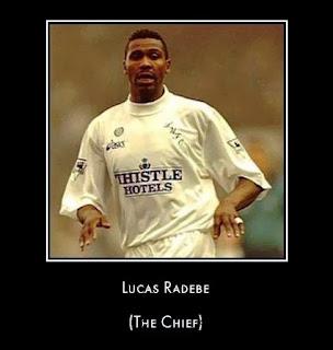 Kaiser Chiefs naam oorsprong - Lucas Radebe