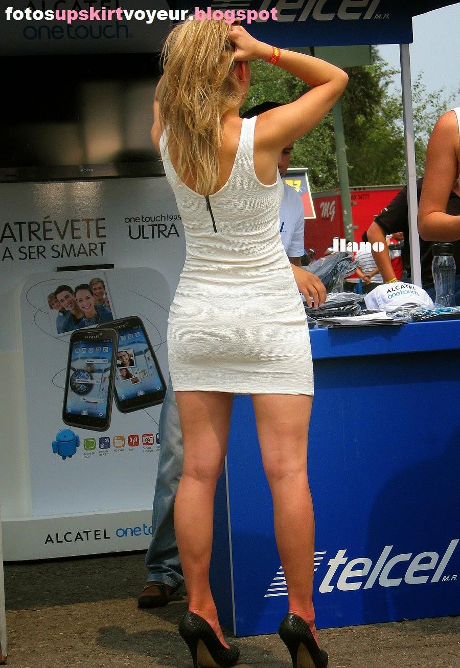 bellas modelos con cuerpos increibles usando vestidos cortos y pegados ...