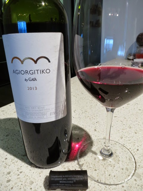 2013 Gaia Agiorgitiko by Gaia from PDO Nemea, Peloponnese, Greece (88 pts)