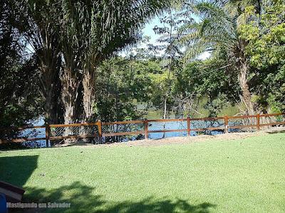 Jodies Pan Pizza Marina Riverside: Vista para o rio Joanes
