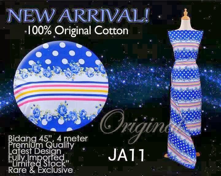 kain cotton cantik cantik stok terhad jualan murah