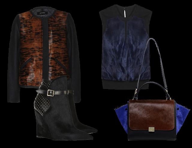 Isabel Marant Jacket - Helmunt Lang Vest - Burberry Prorsum boots - Celine Bag