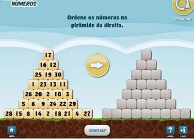 http://www.noas.com.br/educacao-infantil/matematica/ordenando-numeros/