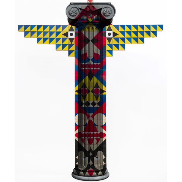 Transform Classic Greek Architecture Into Native American Symbols Of