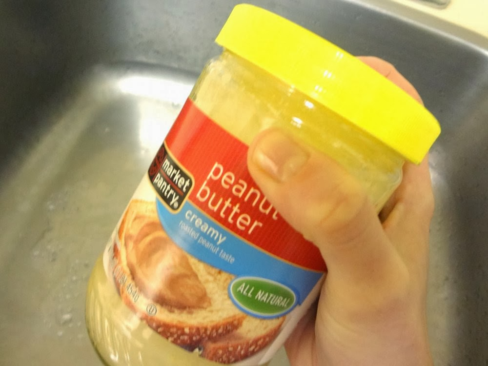 Shake your peanut butter jar!