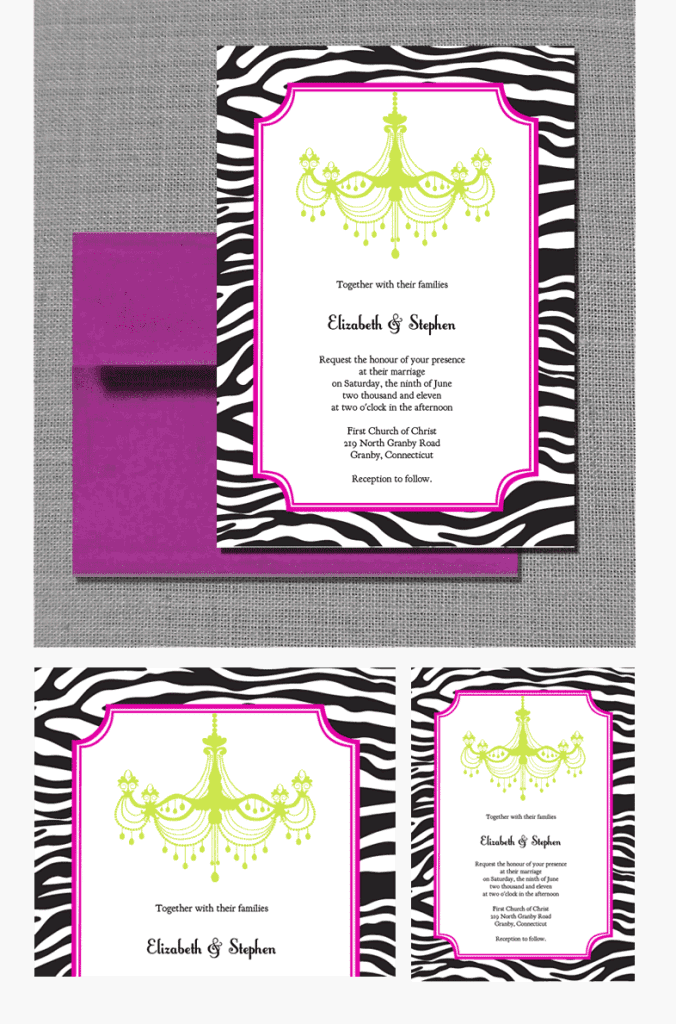 It is an image of Gorgeous Printable Invitations Kit