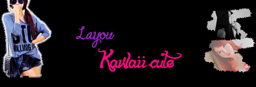 Kawaii cute layout