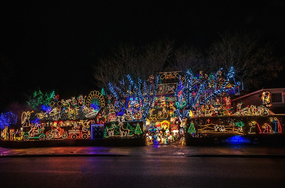 Amazing christmas lights damn cool pictures