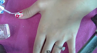 Lovely Floral Nail Art Tutorial