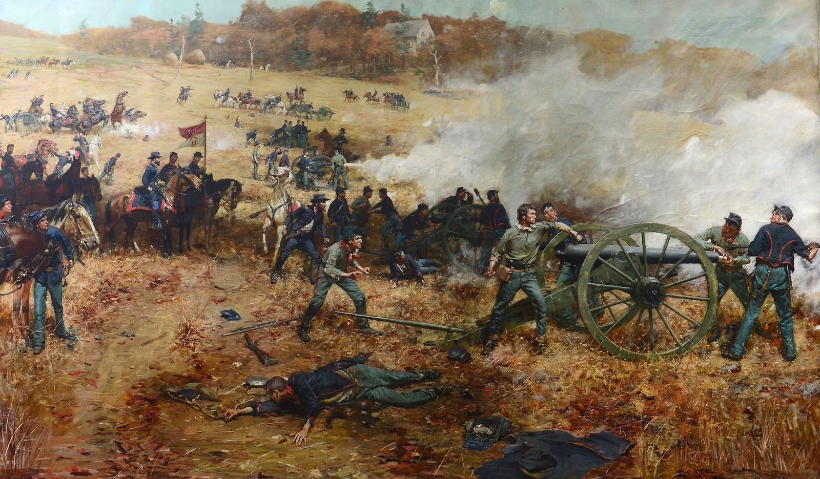 The Civil War Picket Storied Civil War Painting In