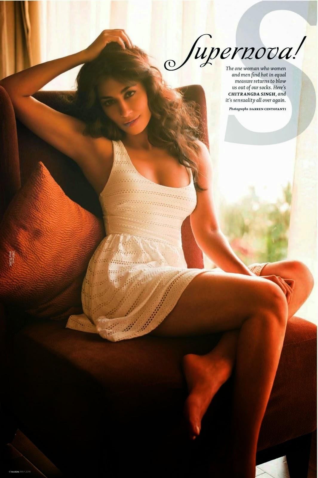 Chitrangada Singh - Hot Maxim Magazine Photoshoot May 2014