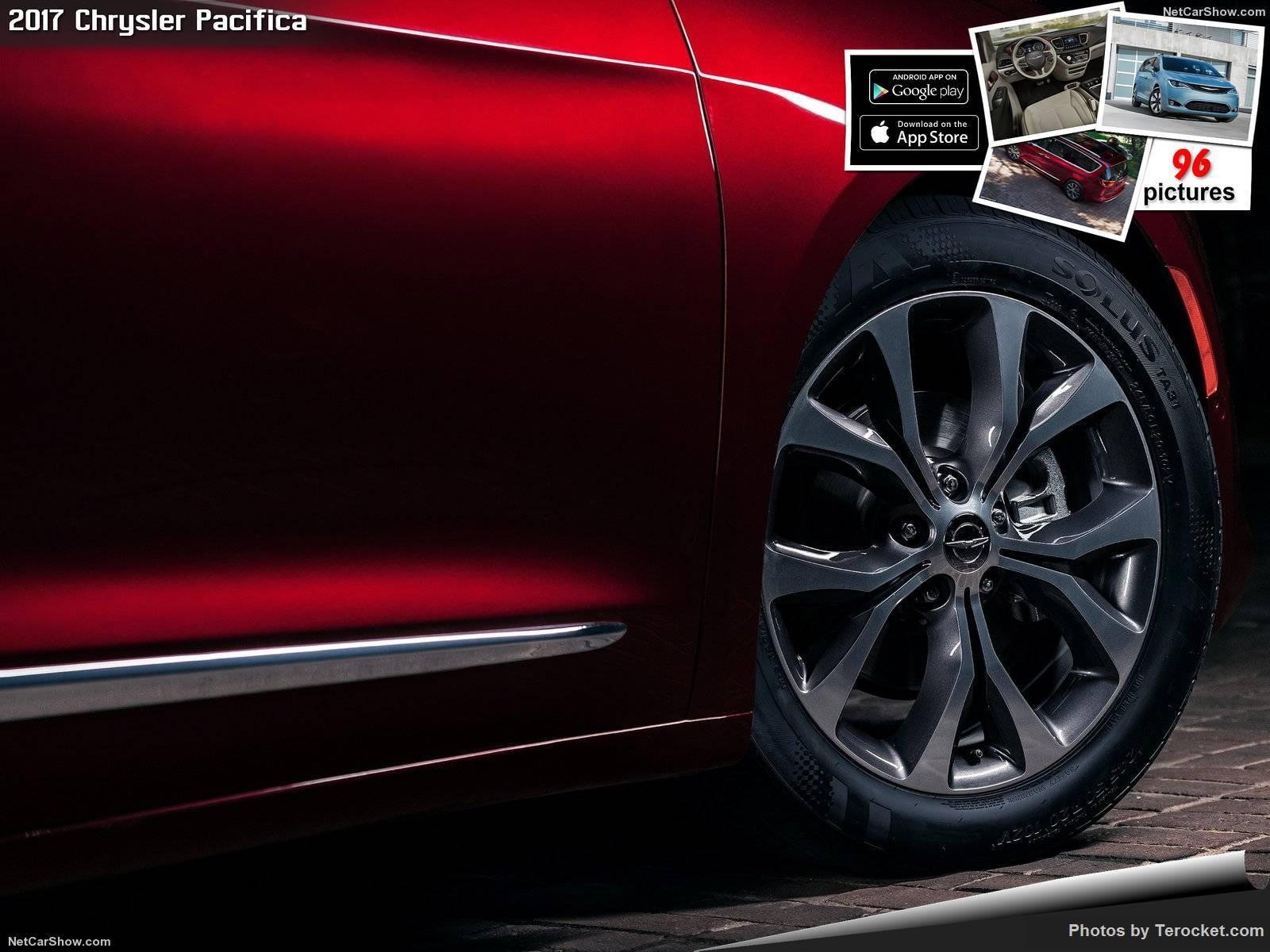 Hình ảnh xe ô tô Chrysler Pacifica 2017 & nội ngoại thất