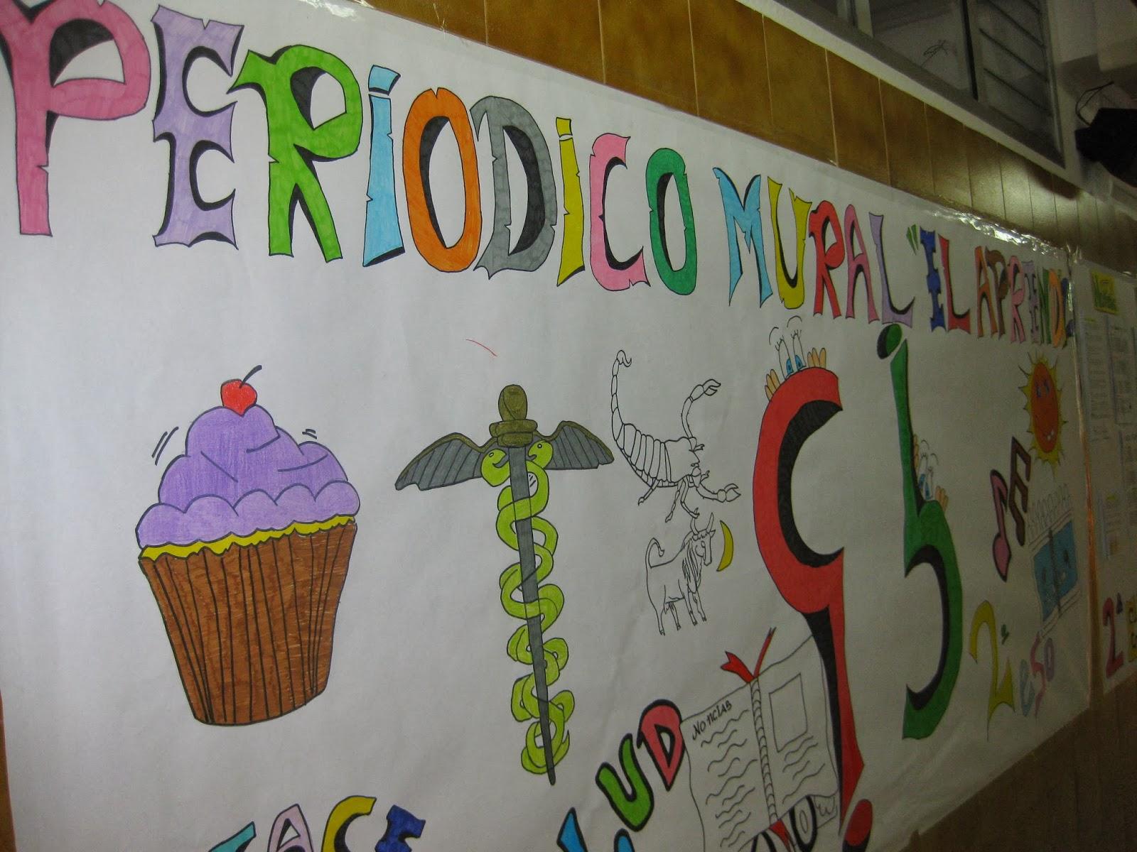 Biblioteca peri dico mural el aprendiz for El periodico mural