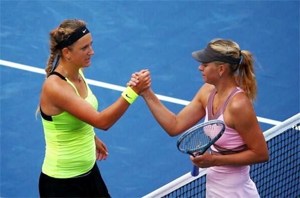 Viktoria Azarenka vs Maria Sharapva US Open Tenis Turnuvası