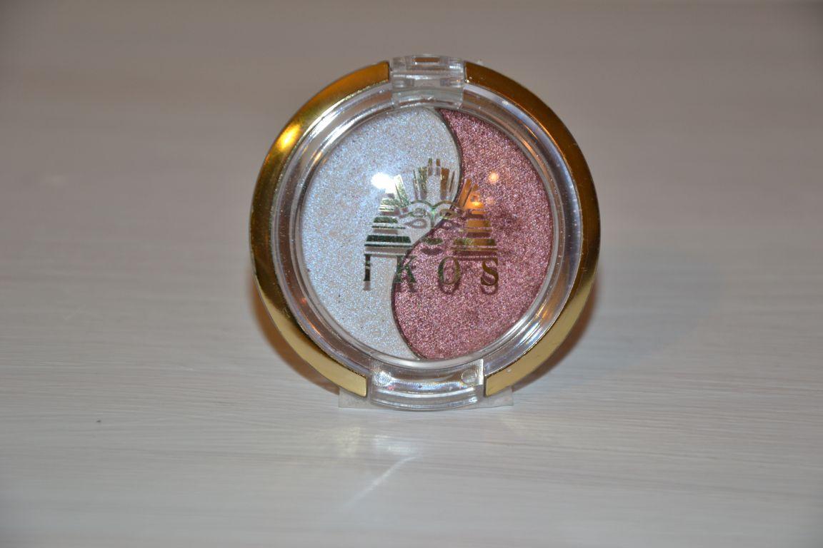 Kosmetyki IKOS - podwójne cienie do powiek