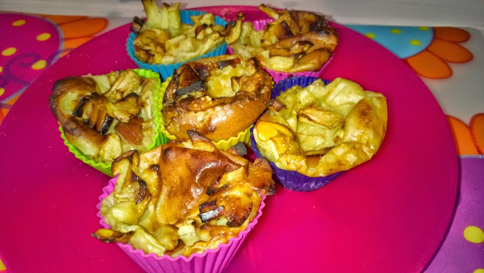 Omena-muffinipannarit ja iltapala lettuja
