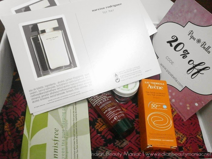 Indian Beauty Box, My Envy Box March Edition pictures, contents and review