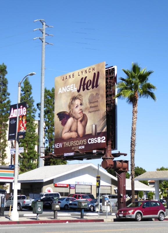 Angel from Hell series premiere billboard
