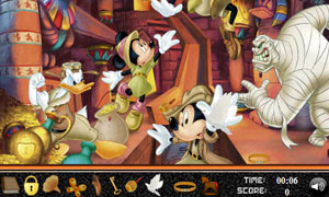 Mickey Mouse Hidden Objects
