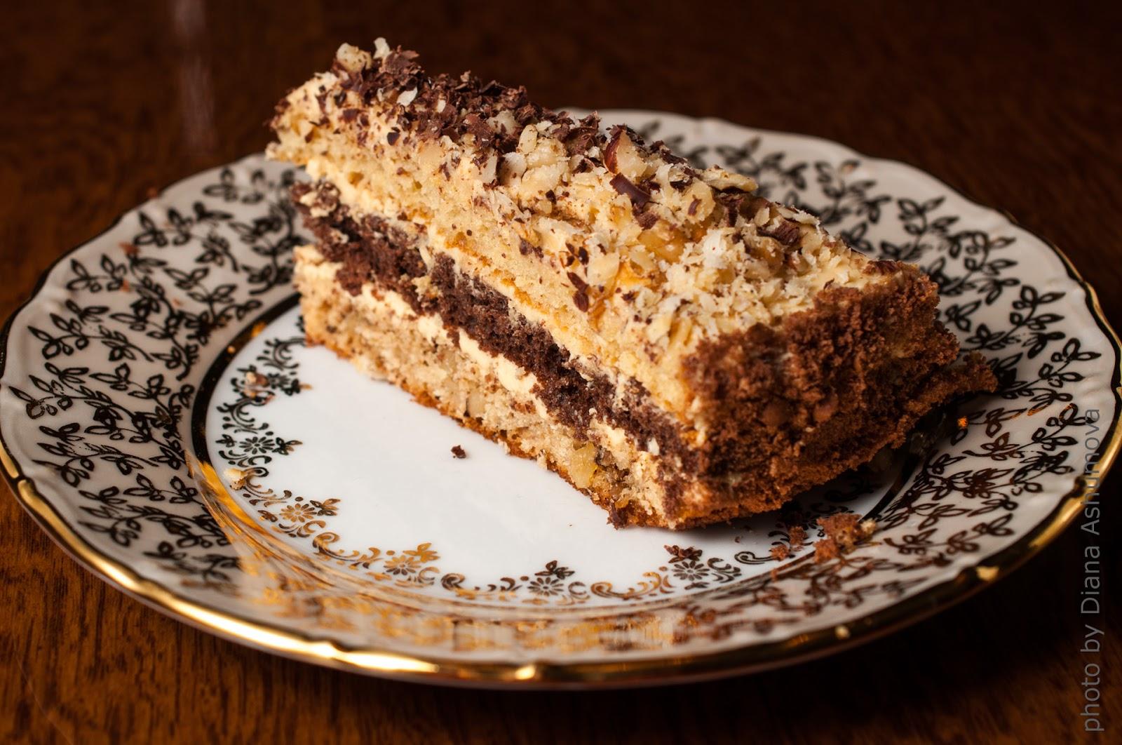 Торт рецепт генерал