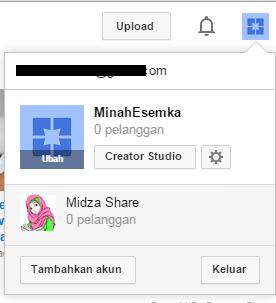 Cara Membuat Beberapa Channel Youtube Dengan Satu Akun Gmail