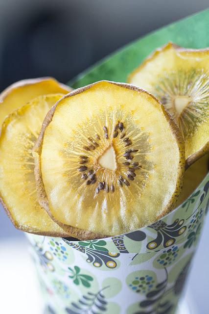 Chips de kiwi sungold, una nueva variedad de Zespri