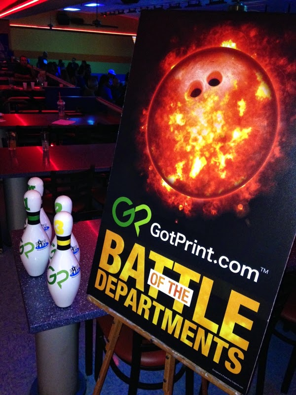 GotPrint bowling competition