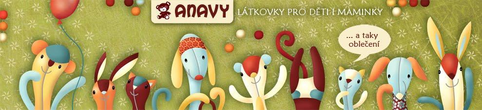 Anavy - české látkové pleny