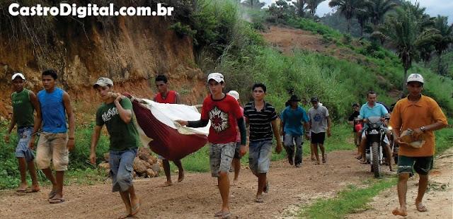 IMAGEM - No Maranhão, redes substituem ambulâncias no transporte de doentes