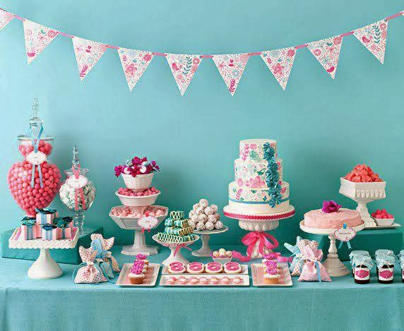 Cherish Blossom Candy Buffet