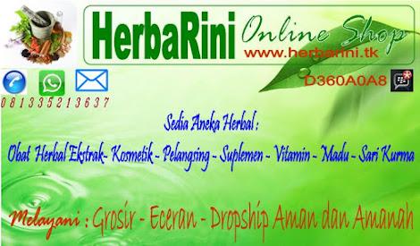 Selamat datang Di HerbaRini Online Shop