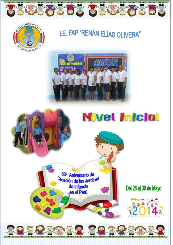83º ANIVERSARIO DE CREACIÓN DE LOS JARDINES DE LA INFANCIA EN EL PERÚ