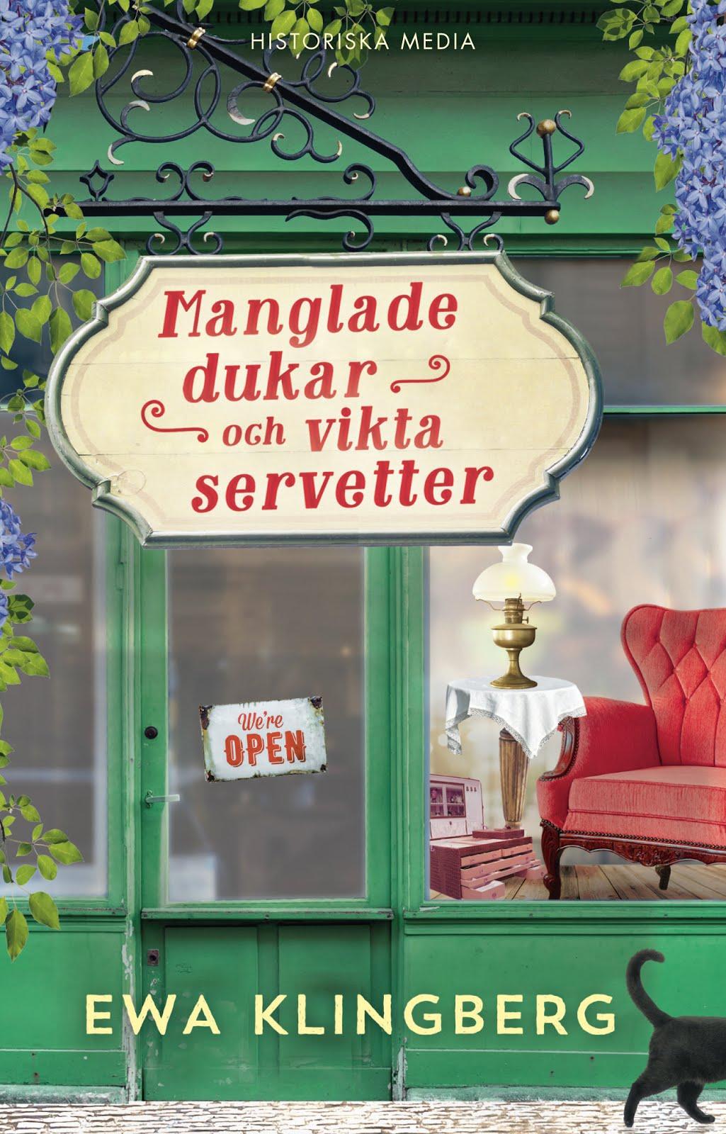 Finns nu i en bokhandel nära dig! Feelgood med historiska vibbar