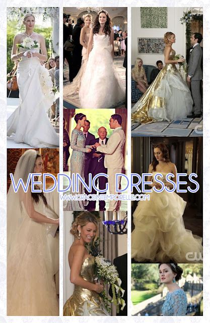 Gossip Girl wedding dresses Grace Intemporelle