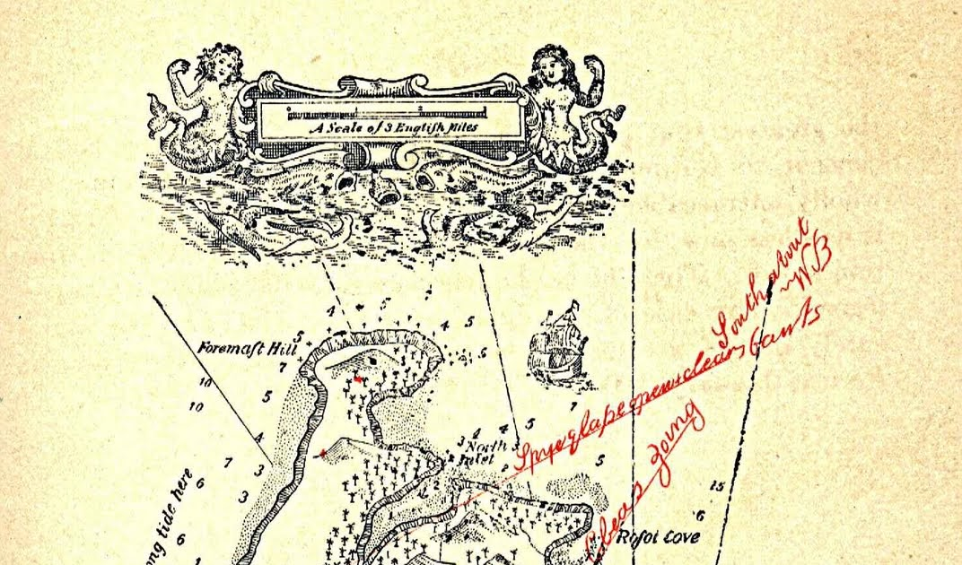 Conan Doyle Island Map