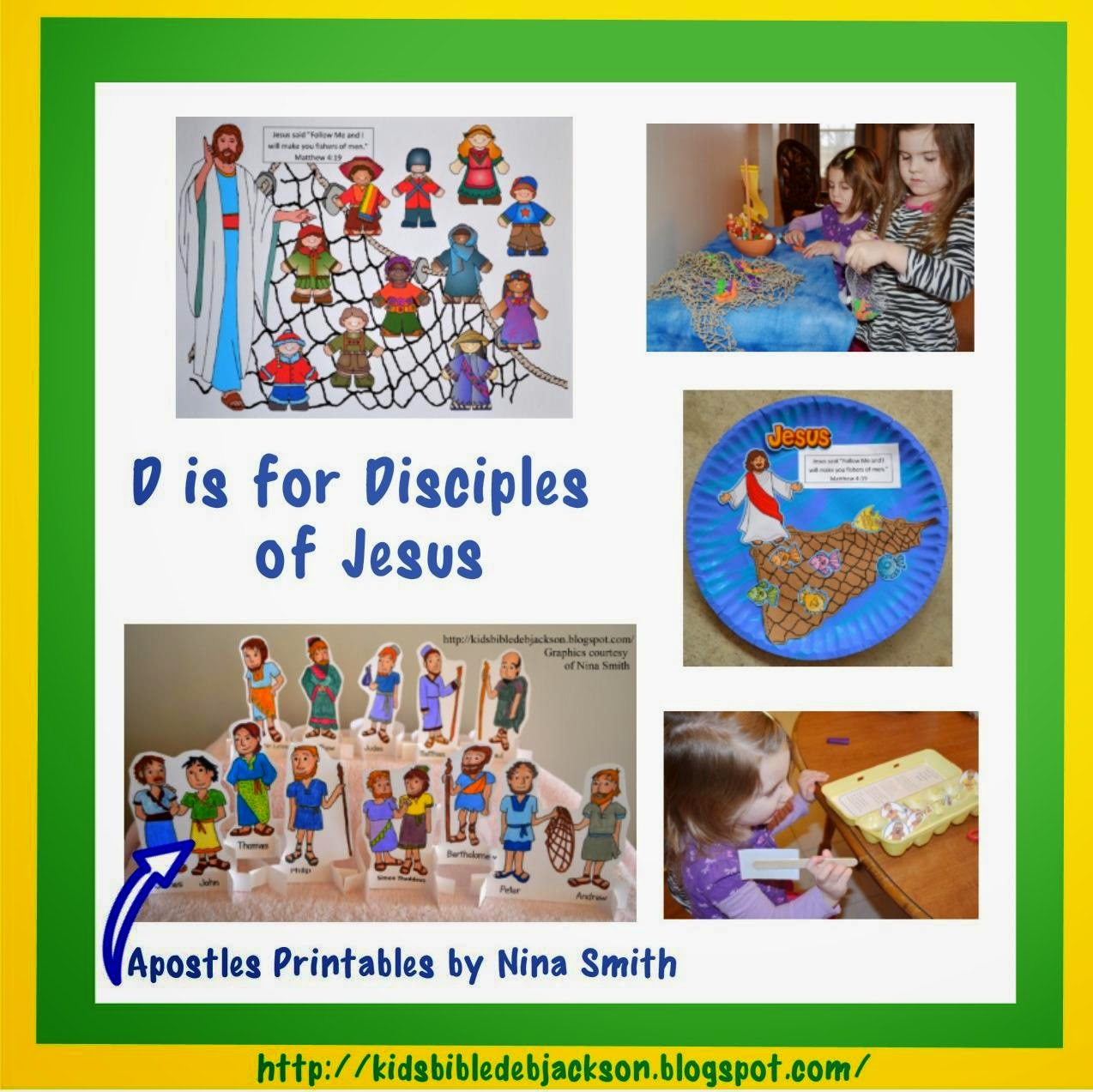 bible fun for kids disciples vs apostles posters file folder