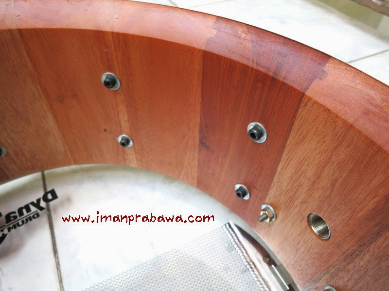Stave Shell Snare Drum