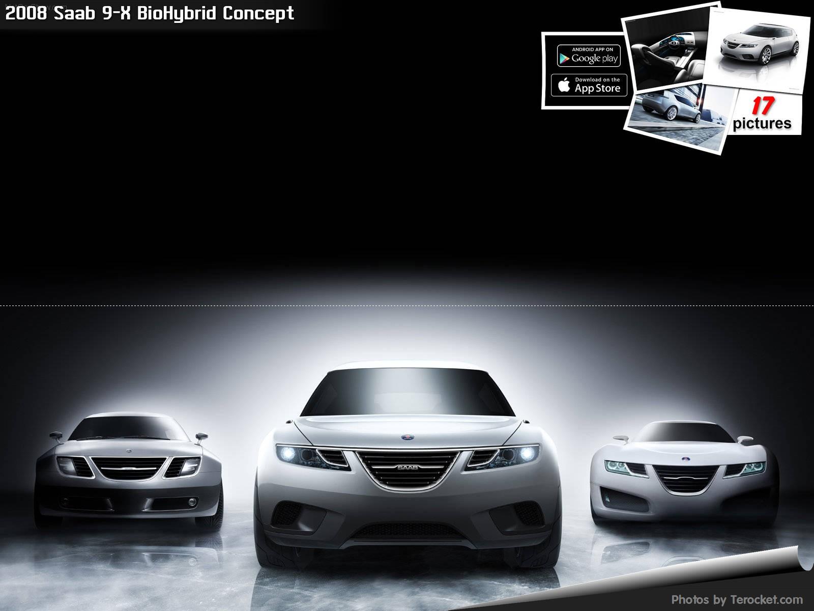 Hình ảnh xe ô tô Saab 9-X BioHybrid Concept 2008 & nội ngoại thất