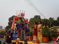 Carnaval del Jamo,2011 en Olanchito